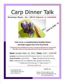 Dinner Talk Poster-Sept