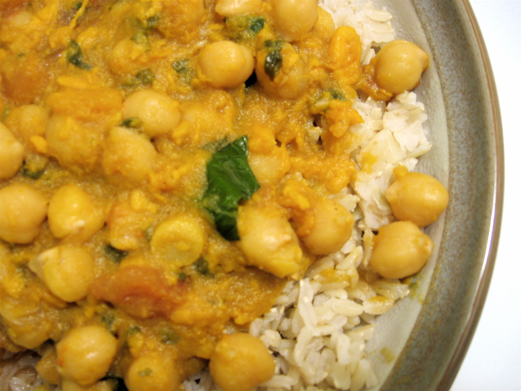 Chickpea Curry Recipe Curry Recipe Chicken Leaves Powder Col..