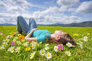 flower-field-person