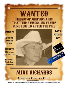 Mike Richards Fundraiser
