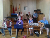 Members of the Carp Celtic Jam add their magical presence to the June Carp Dinner.